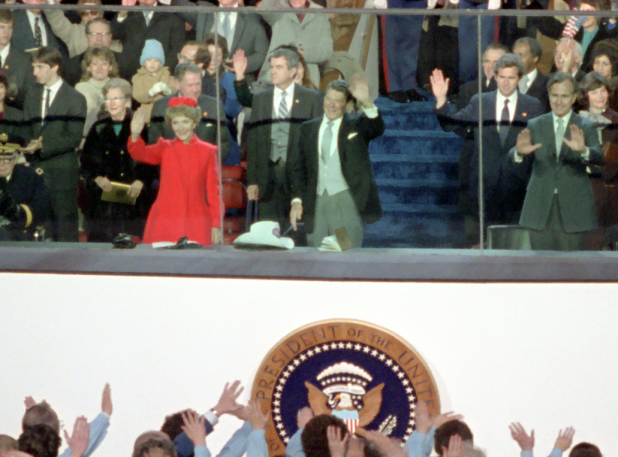 Reagan inauguration 1981