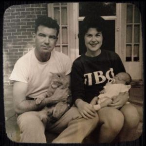 Jerry Parr and Family 1962